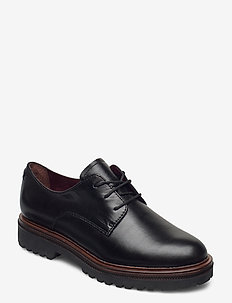 Woms Lace-up - nauhakengät - black leather