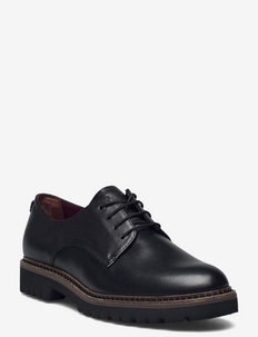 Woms Lace-up - snörskor - black leather