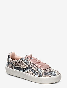 Woms Lace-up - sneakers med lav ankel - old rose/snake