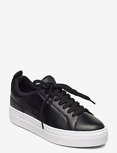 Woms Lace-up - lave sneakers - black uni