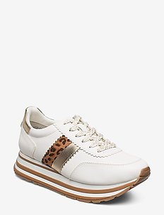 Woms Lace-up - sneakers med lav ankel - white/leo.com.