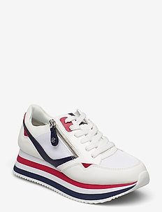 Woms Lace-up - chunky sneakers - white comb