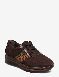 Woms Lace-up - MOCCA/LEO