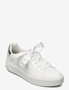 Woms Lace-up - låga sneakers - offwhite str.