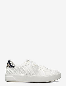 Woms Lace-up - lave sneakers - offwhite str.