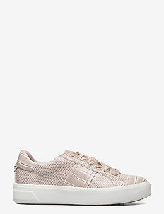 Woms Lace-up - lave sneakers - taupe croco