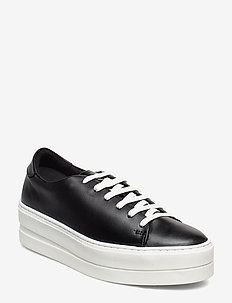 Woms Lace-up - sneakers med lav ankel - black
