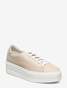 Woms Lace-up - sneakers med lav ankel - light taupe