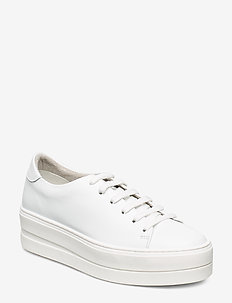 Woms Lace-up - sneakers med lav ankel - white uni