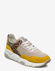 Woms Lace-up - chunky sneakers - saffron comb