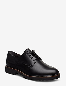 Woms Slip-on - laced shoes - black leather