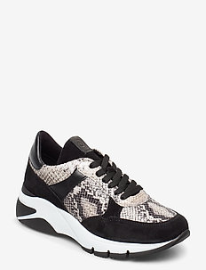 Woms Lace-up - sneakers med lav ankel - black/snake