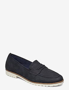 Woms Slip-on - instappers - navy
