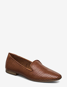 Woms Slip-on - loaferit - nut leather