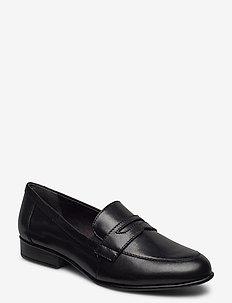 Woms Slip-on - loaferit - black