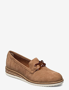 Woms Slip-on - instappers - almond suede