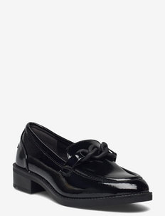 Woms Slip-on - loafers - black patent