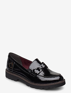 Woms Slip-on - instappers - black patent