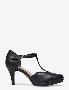 Woms Slip-on - klassiska pumps - black matt