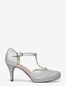 Woms Slip-on - klassische pumps - silver glam