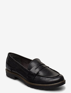 Woms Slip-on - loaferit - black matt
