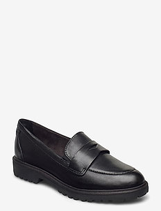 Woms Slip-on - loaferit - black leather