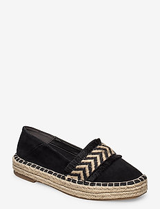 Woms Slip-on - plat - black