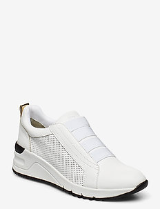 Woms Slip-on - WHT/BLK/GOLD