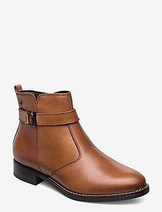 Woms Boots - talon bas - nut