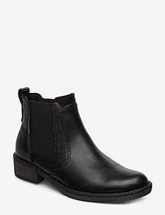 Woms Boots - tasapohjaiset nilkkurit - black uni