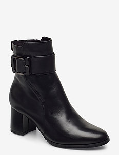 Woms Boots - ankle boots with heel - black