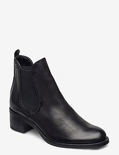 Woms Boots - korolliset nilkkurit - black nubuc
