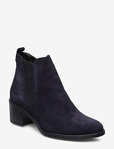 Woms Boots - NAVY SUEDE