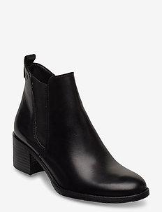 Woms Boots - enkellaarsjes met hak - black
