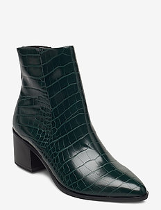 Woms Boots - ankle boots with heel - bottle croco