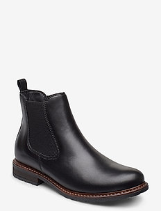 Woms Boots - bottes chelsea - black leather
