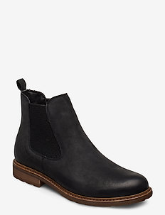 Woms Boots - chelsea boots - black/struct.