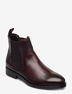 Woms Boots - chelsea boots - cafe
