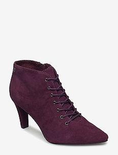 Woms Boots - DK. PURPLE