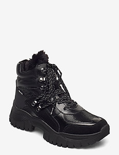 Woms Boots - high top sneakers - black comb