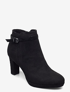 Woms Boots - heeled ankle boots - black