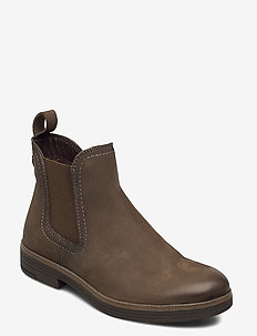 Woms Boots - chelsea boots - olive