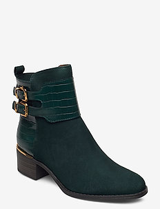 Woms Boots - ankle boots with heel - bottle comb