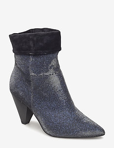 Woms Boots - NAVY GLAM