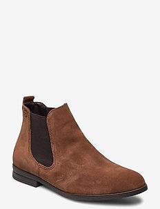 Woms Boots - chelsea boots - cognac