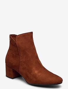 Woms Boots - talon haut - brandy