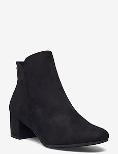 Woms Boots - stiefeletten mit absatz - black