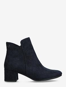 Woms Boots - stiefeletten mit absatz - navy