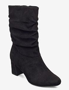 Woms Boots - talon haut - black