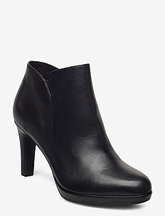 Woms Boots - ankle boots with heel - black uni